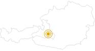 Wanderung Flachauwinkl - Marbachtal in der Salzburger Sportwelt: Position auf der Karte