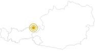 Wanderung Kaisertaler Genussrunde im Kufsteinerland: Position auf der Karte