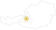 Wanderung The Highking Code im Salzburger Sonnenterrasse: Position auf der Karte