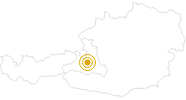 Wanderung Geocachen am Hochkönig am Hochkönig: Position auf der Karte