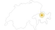 Wanderung Wanderung Graubündenweg: Tschiertschen - Chur in Chur: Position auf der Karte
