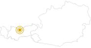 Wanderung Mental–Power Weg - Highlightweg von Leutasch-Weidach auf den Brunschkopf in der Olympiaregion Seefeld: Position auf der Karte