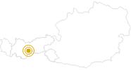 Wanderung Seven Summits - Rinnenspitze in Stubai: Position auf der Karte