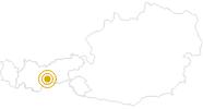 Wanderung Seven Summits - Elfer in Stubai: Position auf der Karte