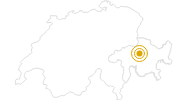 Hike From Chur to Churer Joch in Chur: Position on map