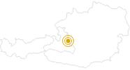 Wanderung Filzmoos: Von den Hofalmen über Kaserboden und Rinderfeld zur Hofpürglhütte in der Salzburger Sportwelt: Position auf der Karte