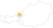 Wanderung Walchsee - Lochner Wasserfall - Wandberg im Kaiserwinkl: Position auf der Karte