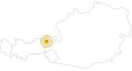 Wanderung Panoramaweg Scheffau - Brixen im Thale Wilder Kaiser: Position auf der Karte