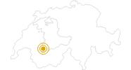 Wanderung Wispile - Lauenensee in Gstaad - Saanenland: Position auf der Karte