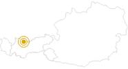 Wanderung Ehrwald - Um die Thörlen in der Tiroler Zugspitz Arena: Position auf der Karte