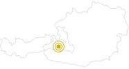Wanderung Blumenwanderweg Gaisbachtal Nr. 117 in Nationalpark Hohe Tauern: Position auf der Karte