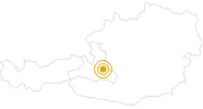 Hike Around the Koppen Salzburg's world of sport: Position on map