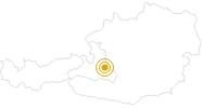 Wanderung Rundweg Löbenau bei Radstadt in der Salzburger Sportwelt: Position auf der Karte