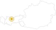 Wanderung Wanderung zur Rauthhütte in der Olympiaregion Seefeld: Position auf der Karte