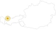 Wanderung Lechweg - Etappe 6: Stanzach - Wängle in der Naturparkregion Reutte: Position auf der Karte