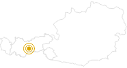 Wanderung Genussrouten Stubaital - Stubaier Almkräuter in Stubai: Position auf der Karte