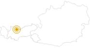 Wanderung Von Ehrwald zum Seebensee in der Tiroler Zugspitz Arena: Position auf der Karte