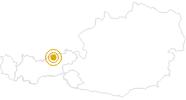 Wanderung Rund um den Achensee am Achensee: Position auf der Karte