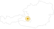 Wanderung Strimskogel-Wandertour bei Zauchensee in der Salzburger Sportwelt: Position auf der Karte