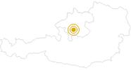 Wanderung Berge Seen Trail - Etappe 1: Von Gmunden zum Gasthof in der Kreh am Traunsee: Position auf der Karte
