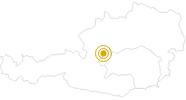Wanderung Berge Seen Trail - Etappe 14: Bad Aussee nach Bad Mitterndorf in Ausseerland - Salzkammergut: Position auf der Karte