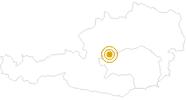 Wanderung Berge Seen Trail - Etappe 16: Von der Tauplitzalm nach Gößl am Grundlsee in Ausseerland - Salzkammergut: Position auf der Karte