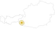 Wanderung Zwei Täler Trail: Gesamtroute von Osttirol nach Südtirol in Osttirol: Position auf der Karte