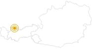 Wanderung Vogelerlebnispfad bei Pflach in der Naturparkregion Reutte: Position auf der Karte