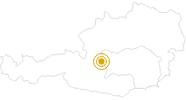 Wanderung Themenweg Wilde Wasser in Schladming-Dachstein: Position auf der Karte
