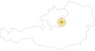 Wanderung Weitwanderweg Luchs Trail Österreich im Nationalpark Kalkalpen: Position auf der Karte