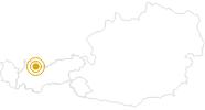 Wanderung Gartnerwand - Grubigstein in der Tiroler Zugspitz Arena: Position auf der Karte