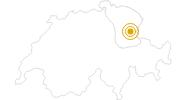 Wanderung Winterwanderung Toggenburg - Panoramarundweg Rosenboden in Toggenburg: Position auf der Karte