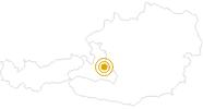 Wanderung Themen-Rundweg Bauernregeln in der Salzburger Sportwelt: Position auf der Karte