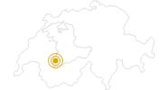 Wanderung Gstaad - Bissen - Turbach - Gstaad in Gstaad - Saanenland: Position auf der Karte