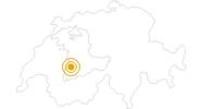 Wanderung Meienberg - Seebergsee - Stierenberg - Hinder Chumi - Zweisimmen in Gstaad - Saanenland: Position auf der Karte