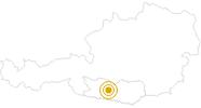 Wanderung Via Paradiso um den Millstätter See am Millstätter See: Position auf der Karte
