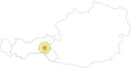 Wanderung Durch das Wildgerlostal: Gasthof Finkau – Trisslalm – Zittauer Hütte im Zillertal: Position auf der Karte
