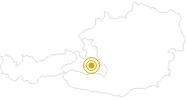 Webcam Ausblick auf das Dorf Wagrain im Grossarltal: Position auf der Karte