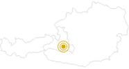 Wanderung Ellmaualm - Saukaralm - Gerstreitalm im Grossarltal: Position auf der Karte