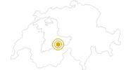 Wanderung Stechelberg - Sefinental - Rotstockhütte - Mürren in der Jungfrau Region: Position auf der Karte