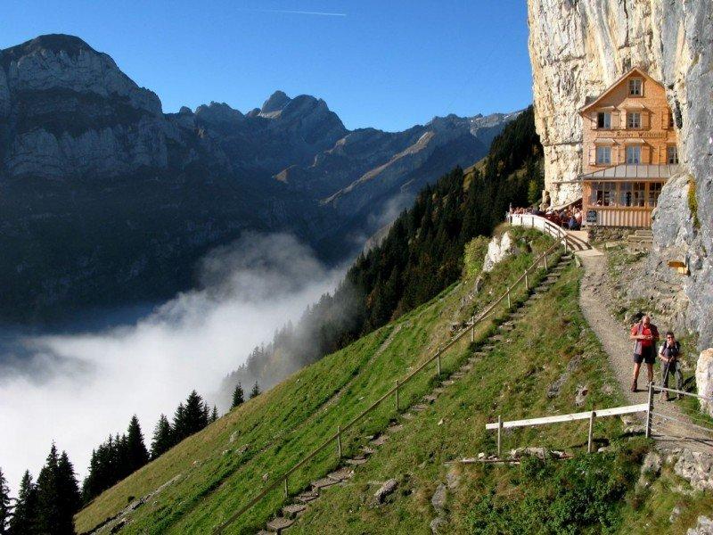 Hike 196 Scher Ebenalp And The Caves Wildkirchlih 246 Hlen