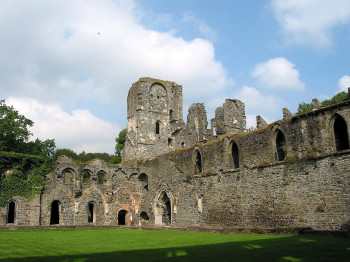 Villers Abbey is where the tour starts and ends.