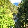 Origine of the Aschau gorge