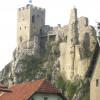 The ruins of Weißenstein Castle.
