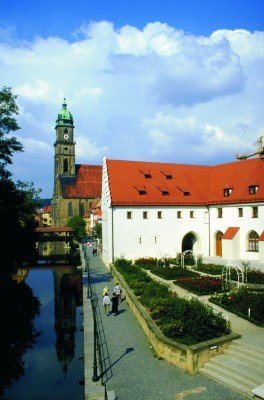 St Martin's Basilica in Amberg