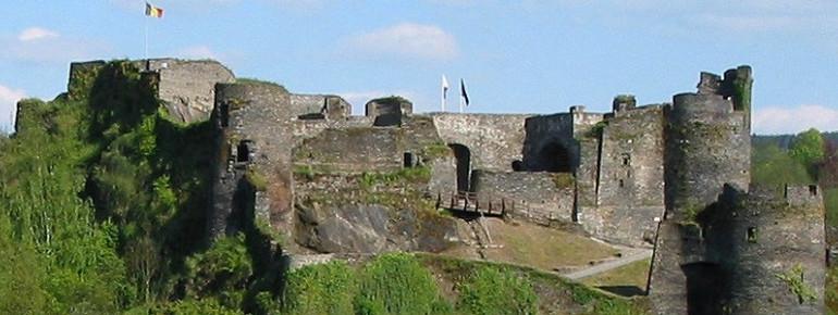 The castle of La Roche-en-Ardenne.