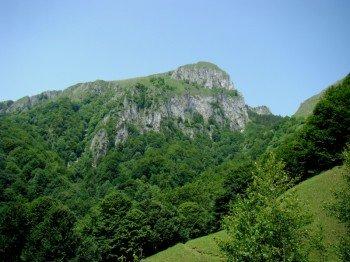 Landscape in Buila-Vânturarița National Park