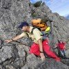 steep track Drei-Schwestern