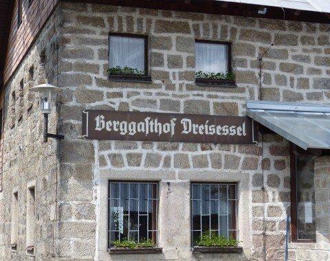 Berggasthof Dreisessel, a nice mountain inn.