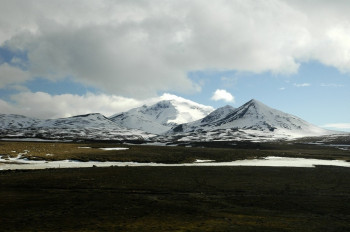 View of Mount Snæfell
